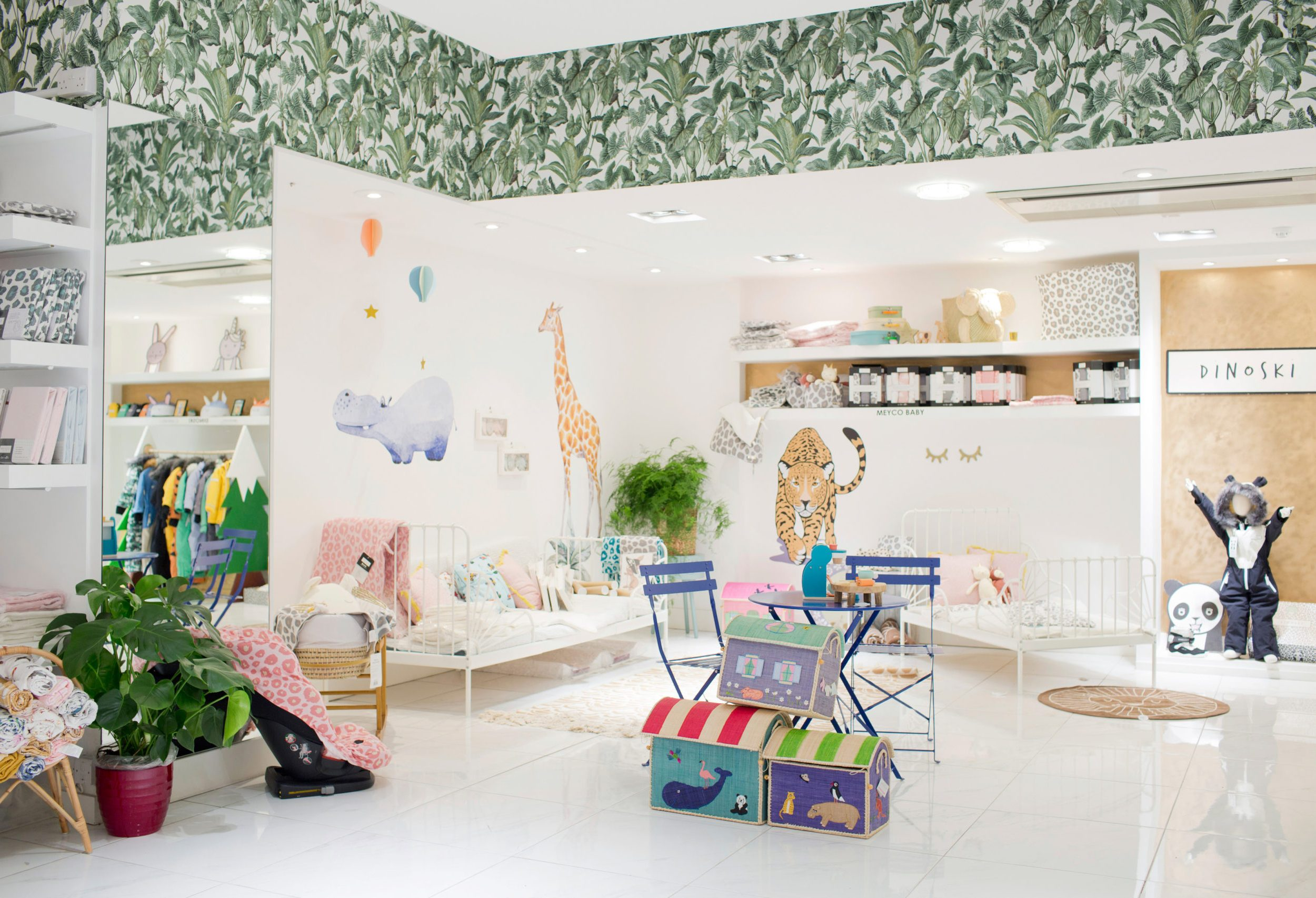 Interior of children's shop