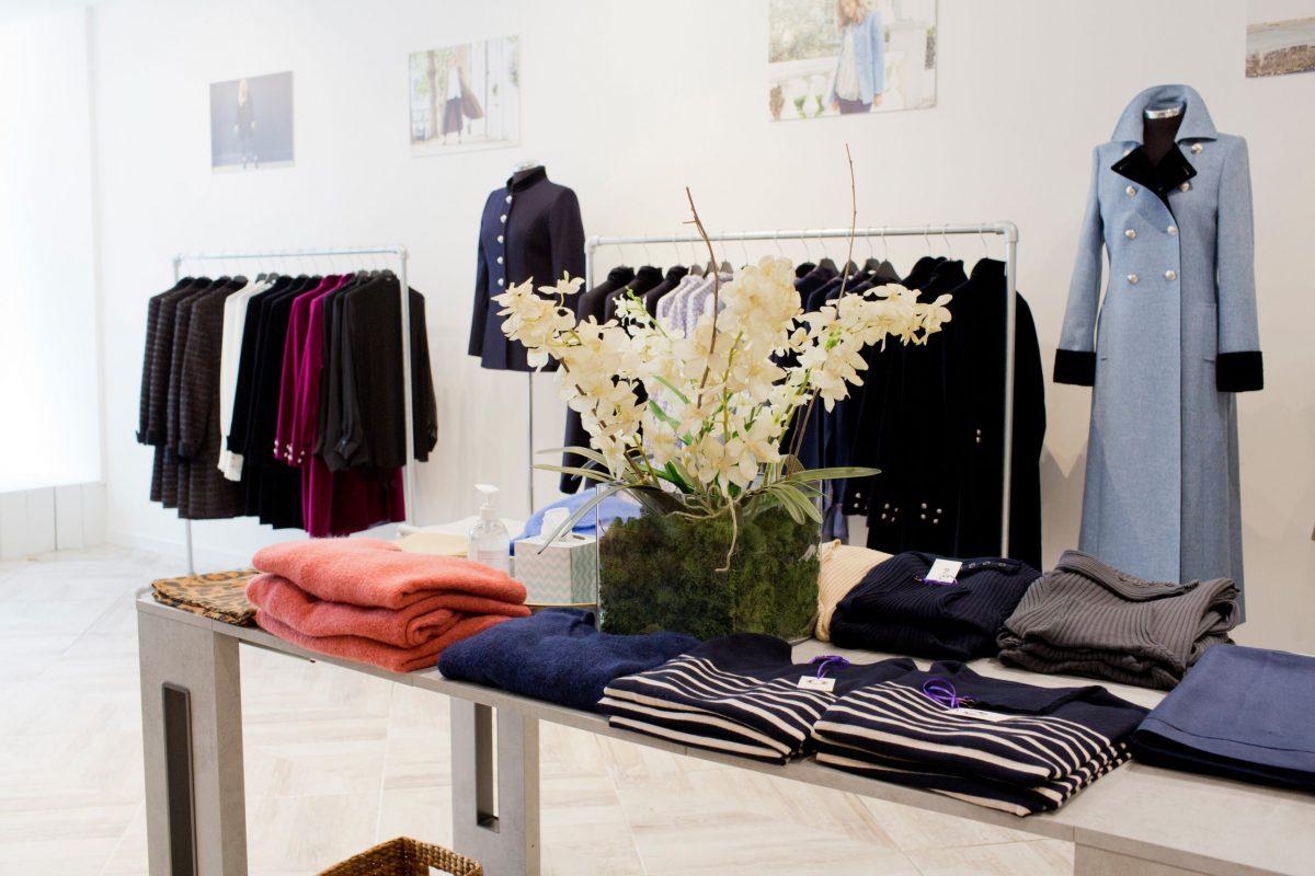 High end fashion store