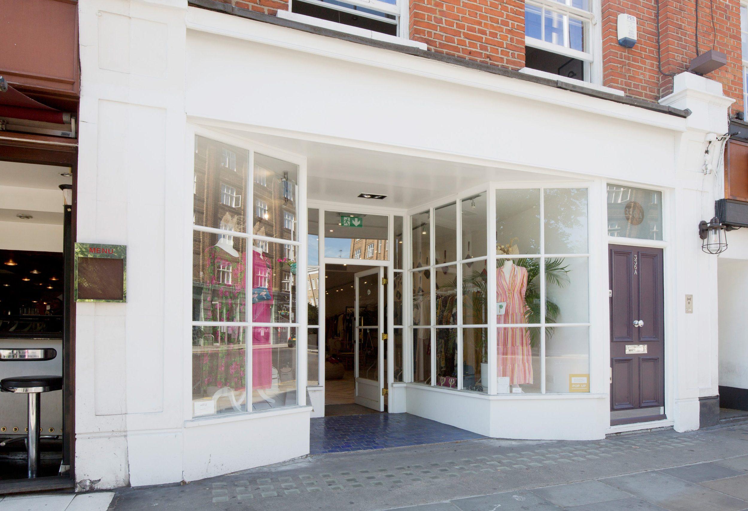 Exterior of shop at 336 King's Road