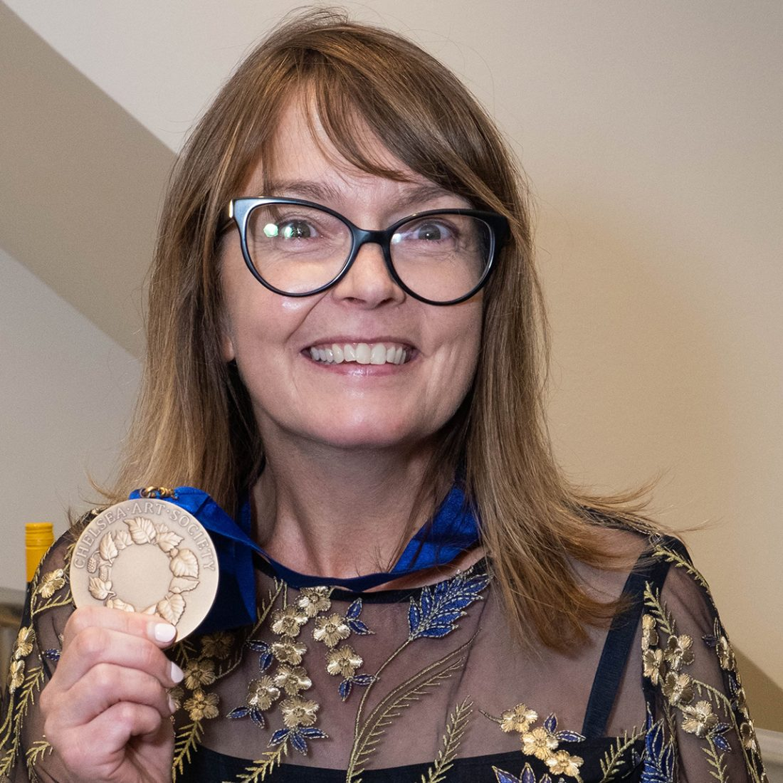 Amanda Coleman with medal