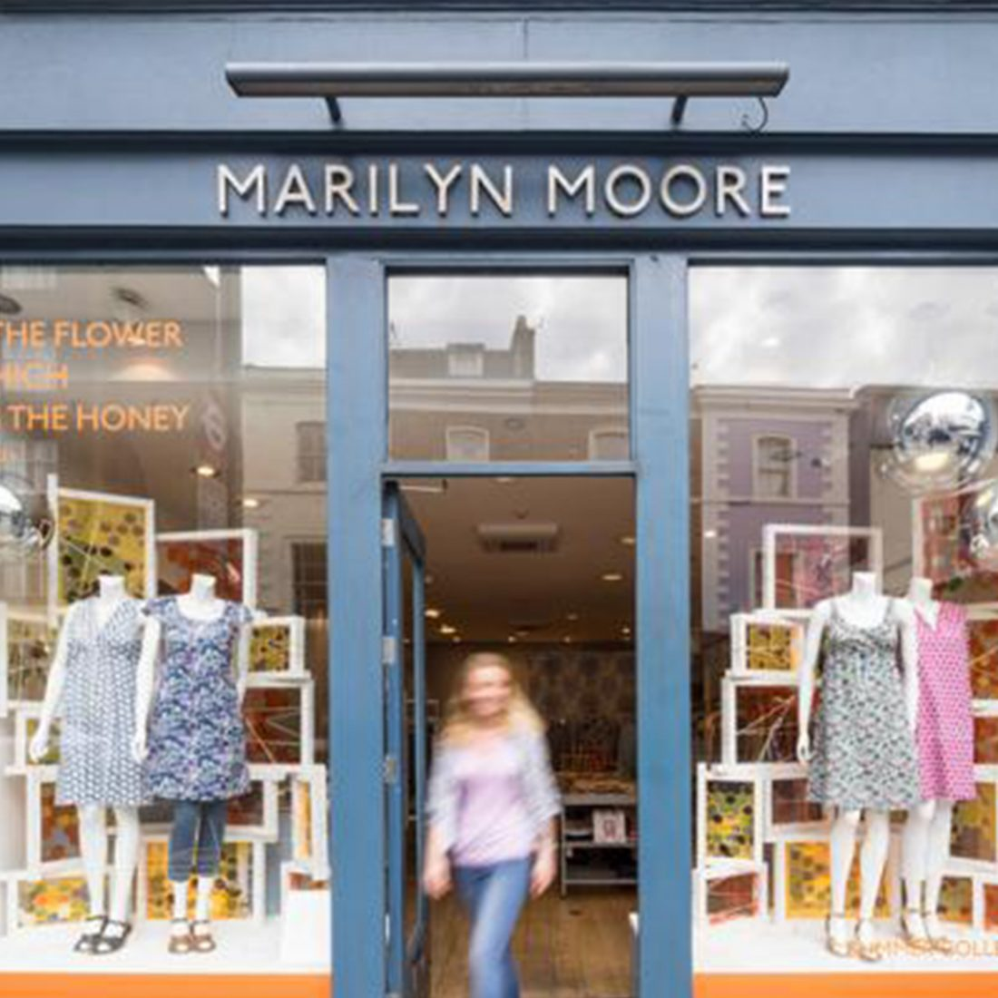 Marilyn Moore creates a Buzz in Chelsea