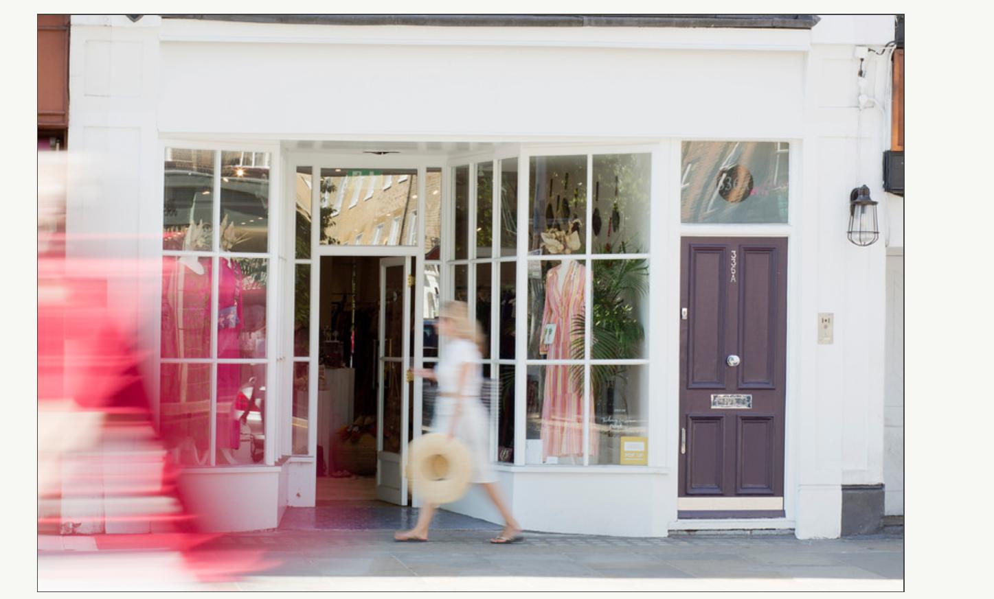Fashion shop at 336 King's Road